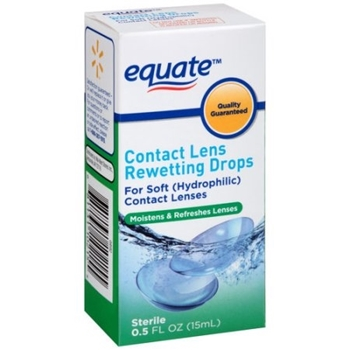 Picture of Equate Contact lens Rewetting Drops