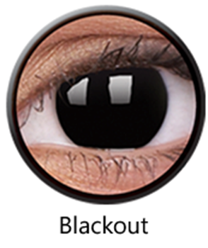 Picture of Black Lenses (Blackout) -1day