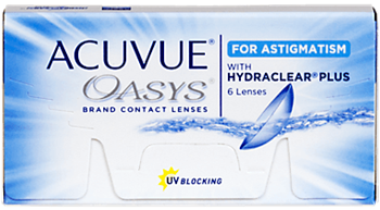 Picture of Acuvue Oasys for Astigmatism - 6 Pack