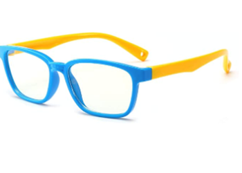 Picture of Blue Light Blocking Glasses for Kids Red blue