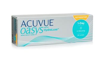 Imagen de Acuvue 1 Day Oasys Hidraluxe para Astigmatismo 30 uds/ IMPORTACIÓN