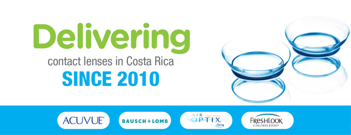 Delivering contact lenses in Costa Rica since 2010